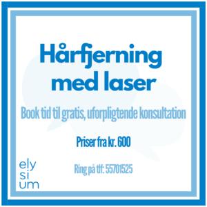 Read more about the article Hårfjerning med laser