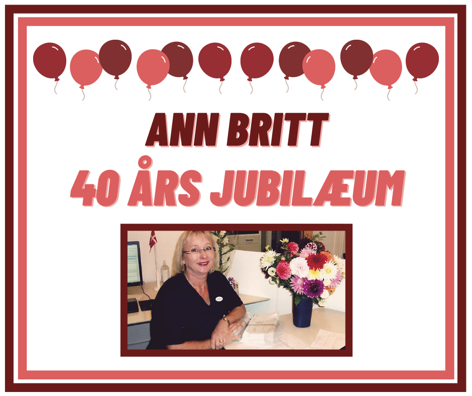 Read more about the article Ann Britt 40 års jubilæum